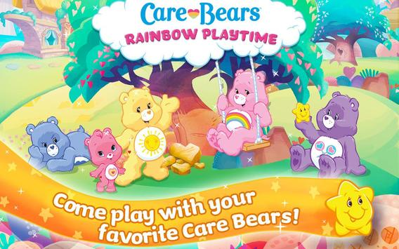Care Bears Rainbow Playtime poster
