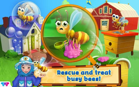 Baby Beekeepers- Care for Bees poster