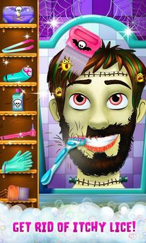 Hairy Face Salon Monster Shave screenshot 1