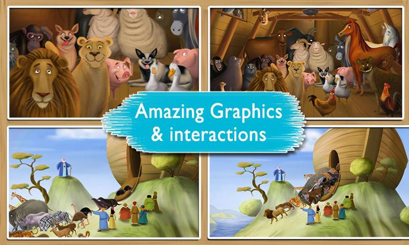 Noah S Ark Bible Story Book For Android Apk Download