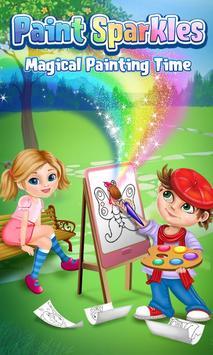 Paint Sparkles Draw Poster Apk