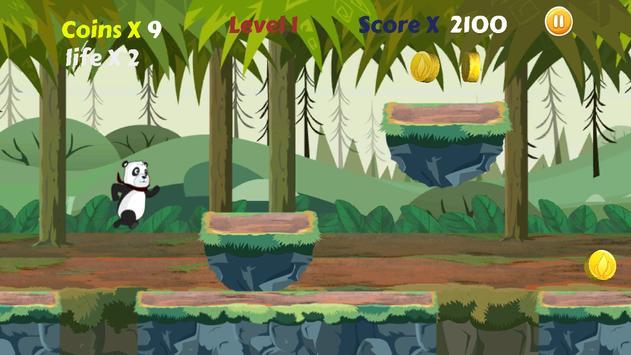 Panda Run Jungle poster