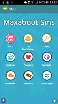 Maxabout SMS poster