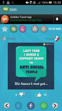 Maxabout SMS apk screenshot