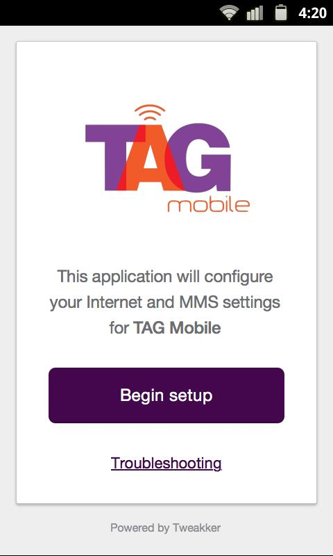 TAG Mobile APN Setup for Android - APK Download