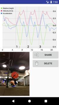 Barbell Tracker apk screenshot