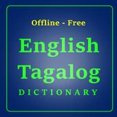 Offline: English - Tagalog Dictionary icon