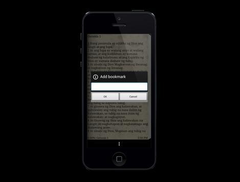 Filipino Bible Free apk screenshot