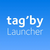 Tag'by Launcher icon