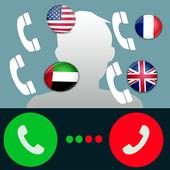 تغيير رقم هاتفك لأي دولة prank icon