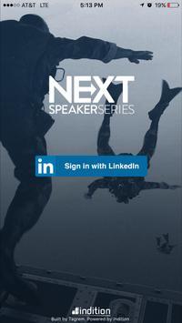 Next Speaker Series 2016 poster