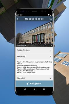 Uni Köln Navi on Campus Screenshot 2