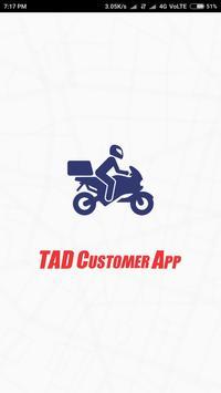 TAD Customer App poster