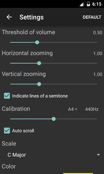 Vocal Pitch Monitor imagem de tela 1
