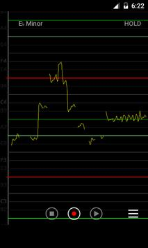 Vocal Pitch Monitor imagem de tela 4