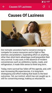 How To Overcome Laziness screenshot 5