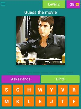 Guess the hollywood movie ! apk screenshot