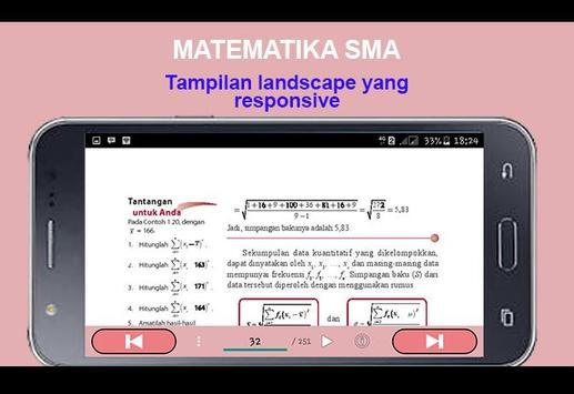 Matematika SMA Kelas XI IPA apk screenshot