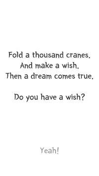 A thousand crane / Make a wish - clicker screenshot 1