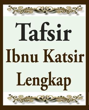 Tafsir Al Qur'an Ibnu Katsir Lengkap poster