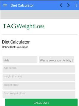 Tag Weight Loss apk screenshot