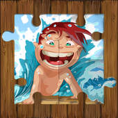 Beach Puzzle For Kids icon