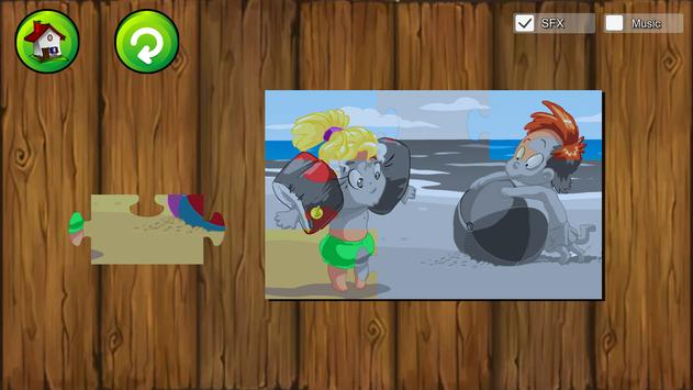 Beach Puzzle For Kids apk screenshot