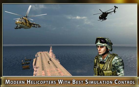 Navy Gunship Heli Shooter Army screenshot 10