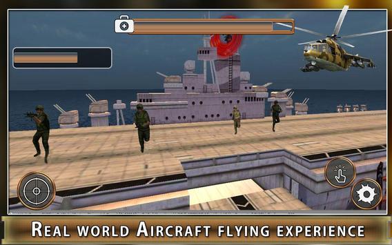 Navy Gunship Heli Shooter Army screenshot 11