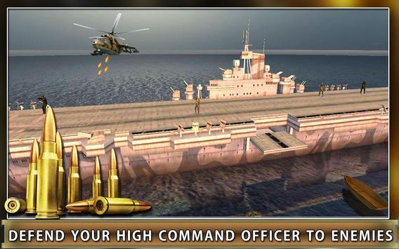 Navy Gunship Heli Shooter Army screenshot 2
