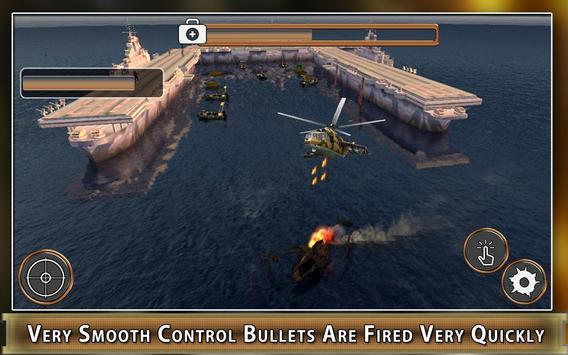 Navy Gunship Heli Shooter Army screenshot 3