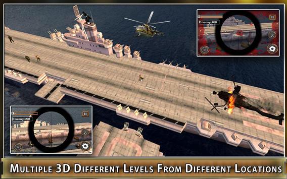 Navy Gunship Heli Shooter Army screenshot 4