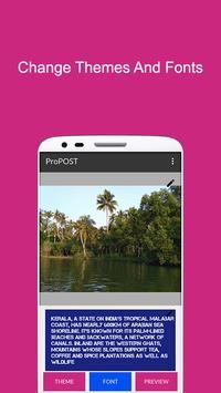 ProPOST screenshot 2