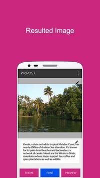 ProPOST screenshot 3