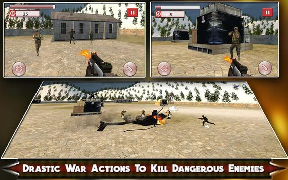 Sniper Heli Shooting Army screenshot 12
