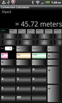 Conversion Calculator (free) apk screenshot