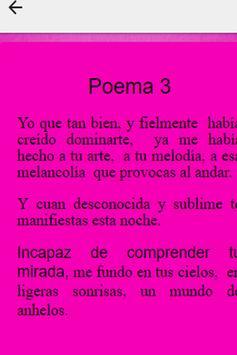 Poemas de Amor Romanticos screenshot 2
