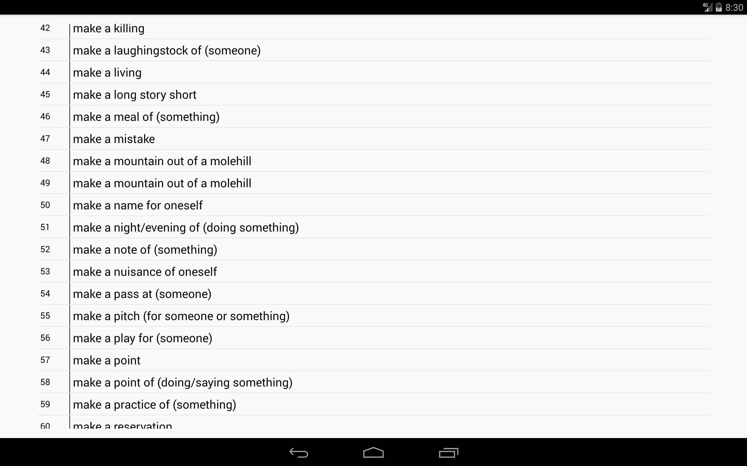 English Idioms and phrases for Android - APK Download