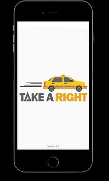 Take A Right poster