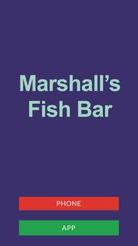 Marshalls Fish Bar LE5 poster