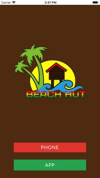 Beach Hut Caribbean Takeaway poster