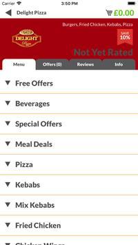 Delight Pizza LE4 screenshot 1