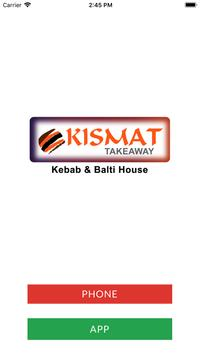 Kismat Kebab & Balti House BB9 poster