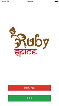 Ruby Spice HU6 poster