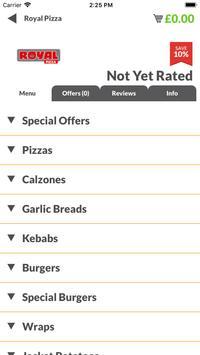Royal Pizza HU8 screenshot 1