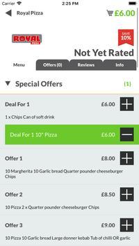 Royal Pizza HU8 screenshot 2