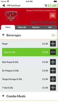 VIP Fast Food YO14 screenshot 2