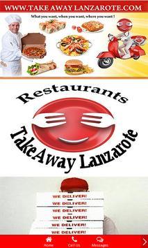 Takeaway Lanzarote Restaurants poster