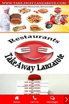 Takeaway Lanzarote Restaurants apk screenshot
