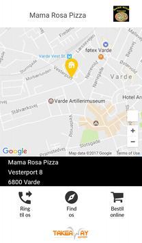 Mama Rosa Pizza Varde poster